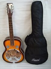 Acoustic Electric Square Neck Resonator, 4 Band EQ, Sunburst, Free Gig Bag, New