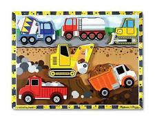 Melissa and Doug ** Wooden Construction Puzzle * Early Learning,Young Children