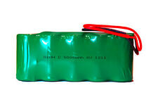 6 Volt 5000 mAh NiMH Rechargeable Battery Pack w/ Leads