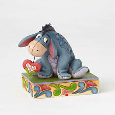 Disney Traditions Jim Shore 2016 Winnie the Pooh's EEYORE Heart String Figurine
