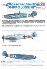Print Scale Decals 1/72 MESSERSCHMITT Bf-109G GUSTAV Fighter