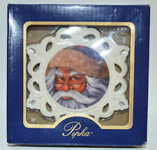 NEW Pipka Holiday Christmas Santa Snowflake Ornament