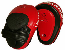 EMRAH Focus Pads,Hook and Jab,MMA Boxing Kick Curved Mitt Gloves Thai Muai RL