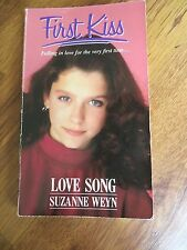 First Kiss #2: Love Song by Suzanne Weyn (Paperback, 1990)