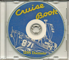 USS Damato DDE 871 1953 Med Cruise Book CD