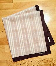 BURBERRY men's handkerchief - JAPAN -  cotton