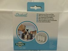 Drinkwell 360 Pet Fountain Dogs & Cats Replacement Charcoal Filter Pack of 3