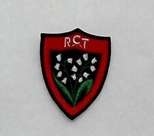 Patch / Ecusson RCT RUGBY CLUB TOULONNAIS TOULON RC TOULON TOP 14