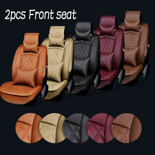 3D Surround Luxury Car Front Seat PU Leather Car Seat Cover Cushions Breathable