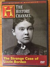 THE STRANGE CASE OF LIZZIE BORDEN DVD As New HISTORY CHANNEL free ship OOP