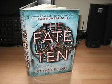Pittacus Lore - The Fate of Ten Signed Limited Numbered 115/300 Lorien Legacies