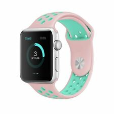 New Replacement Silicone Sports Band Bracelet iWatch Strap For Apple Watch 2 /1