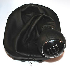 Vw Caddy Mk3 04-10 Touran 03-10 Gear Shift Stick Polaina Perilla De 5 Velocidades