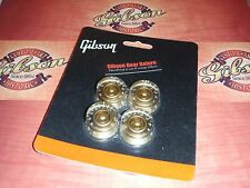 Gibson Les Paul Speed Knobs Gold Set Guitar Parts Custom R9 SG V ES HP R7 Studio