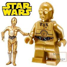 1pc C-3PO Minifigure Building Blocks Toy Star Wars Custom Lego #089