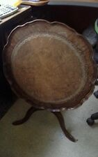Small tilt top occasional table, tea  table,