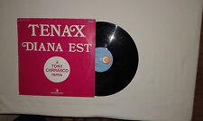 "Diana Est – Tenax - Disco Mix 12"" 33 Giri Vinile Stampa ITALIA 1982"