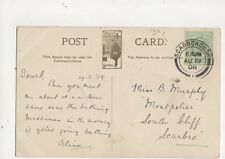 Miss B Murphy Montpelier South Cliff Scarborough 1908 430a