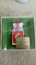 Hallmark 1979 Matchless Christmas Mouse Little Tree-Trimmer Christmas Ornament