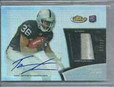 TAIWAN JONES RC AUTO REFRACTOR 3COL PATCH #/99 2011 FINEST