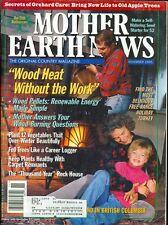 1995 Mother Earth News Magazine #152: Wood Burning Stove/Renewable Energy/Trees