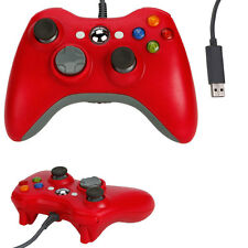 New Red USB Wired Game Pad Controller For Microsoft Xbox 360 Xbox360 PC Windows