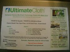 ULTIMATE Cleaning CLOTH MiraFiber STREAK FREE LINT and DUST FREE! NO Scratches!