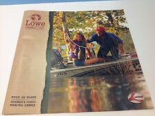 2003 Lowe Bass Fish Boat Catalog Brochure Book Stinger Roughneck Jon Striker