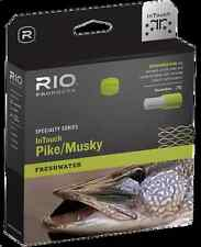 RIO InTouch Pike/Musky Intermediate Sink Tip Fly Line - WF9F/I 9wt - Gray/Yellow