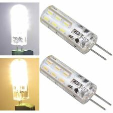 G4 1.5W 24LED 3014SMD 12V Silica Gel Pure White Light Lamp Bulb Replacement