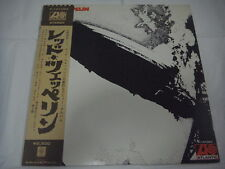 LED ZEPPELIN-same Ⅰ JAPAN Press w/OBI P-10105A Deep Purple AC/DC Black Sabbath