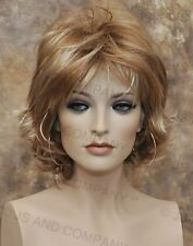 Classy and chic Everyday wig Multiple layers Strawberry Blonde Mix lo 27-613