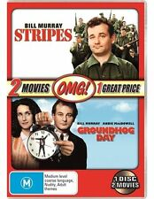 Stripes / Groundhog Day (OMG Pack) NEW R4 DVD