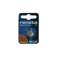 Renata CR1225 DL12250 BR1225 Coin Cell Watch Remote Control Car Fob Battery New