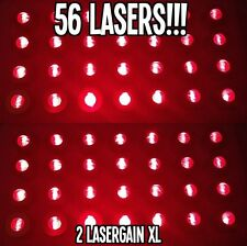 LASER COMB - 2 LASERGAIN XL. HAIR GROWTH LOSS MAX RE-GROWTH TREATMENT 64 LASERS!