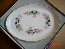 Wedgwood HATHAWAY ROSE Small Oval Tray Boxed