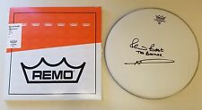 PETE BEST THE BEATLES SIGNED AUTOGRAPHED REMO WEATHER KING DRUM HEAD