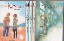 C'ETAIT NOUS tomes 1 à 5 Obata MANGA shojo SERIE