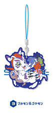 Digimon Gomamon, Pukamon Rubber Phone Strap Anime Manga NEW