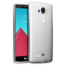 Slim Rubber Gel Case Cover for LG G4 - Clear
