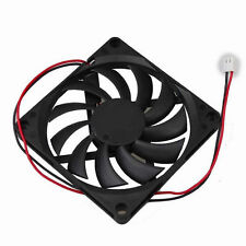 80mm 8cm 5V 2Pin 80x10mm DC Brushless Cooling Case Fan For PC Computer Cooling
