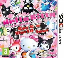 Hello kitty et amis-Rocking monde pour uk / eu 3DS (new & sealed)