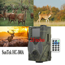 New SunTek HC-300A HD 12MP Wildlife Digital Infrared Trail Hunting Camera