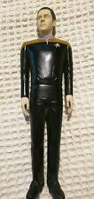 """STAR TREK NEXT GENERATION 10"""" DOLL ACTION FIGURE 1994 APPLAUSE DATA PLAYED WITHH"""