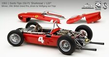 Exoto 1/18 Ferrari 1961 156/120° F1 Sharknose British Grand Prix #4 GPC97207