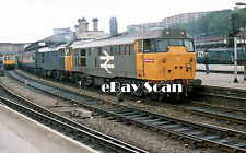Railway Photograph Brush Type 2 Class 31 №31207 Sheffield Midland Station D5631