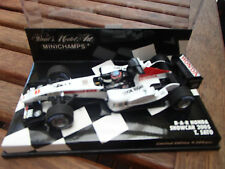1:43 MINICHAMPS BAR HONDA SHOW CAR 2005 TAKUMA SATO LIMITED EDITION NEW