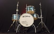 Odery Drums Cafe Kit Blue Sparkle With Hardware!