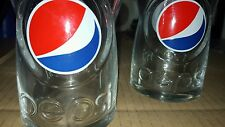 2 x New Pepsi Cola Glasses