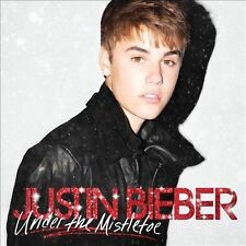 Under the Mistletoe by Justin Bieber (CD 2011) NEW